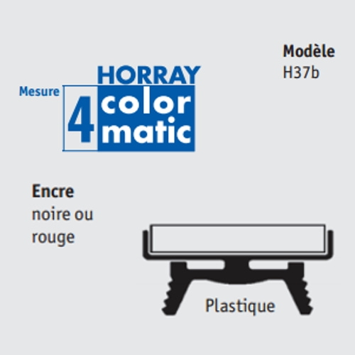 Recharge Horray Colormatic 4 pour H37b