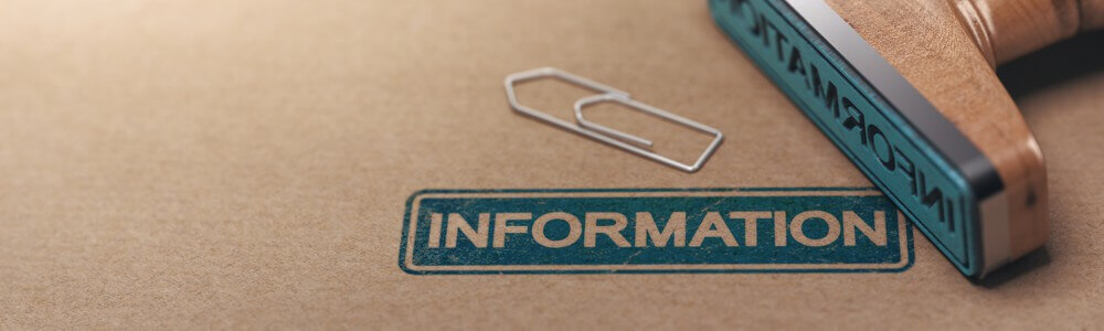 banniere tampon information